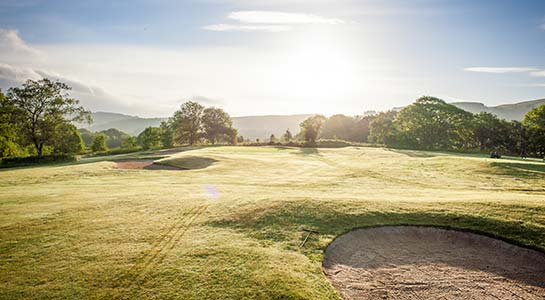 Glynneath Golf Club - Hole 4