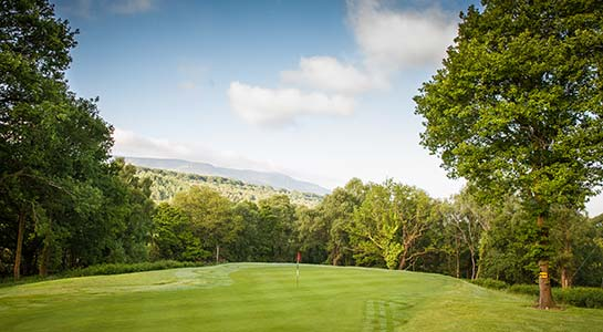 Glynneath Golf Club - Hole 8